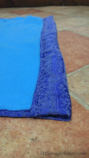 How To Sew A Shofar Bag With Drawstring Closure and Padded Strap