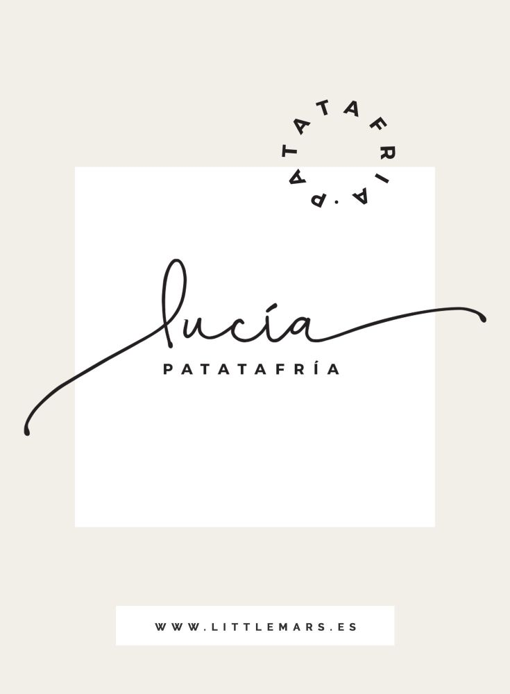 Branding + Web para Lucia Patatafria