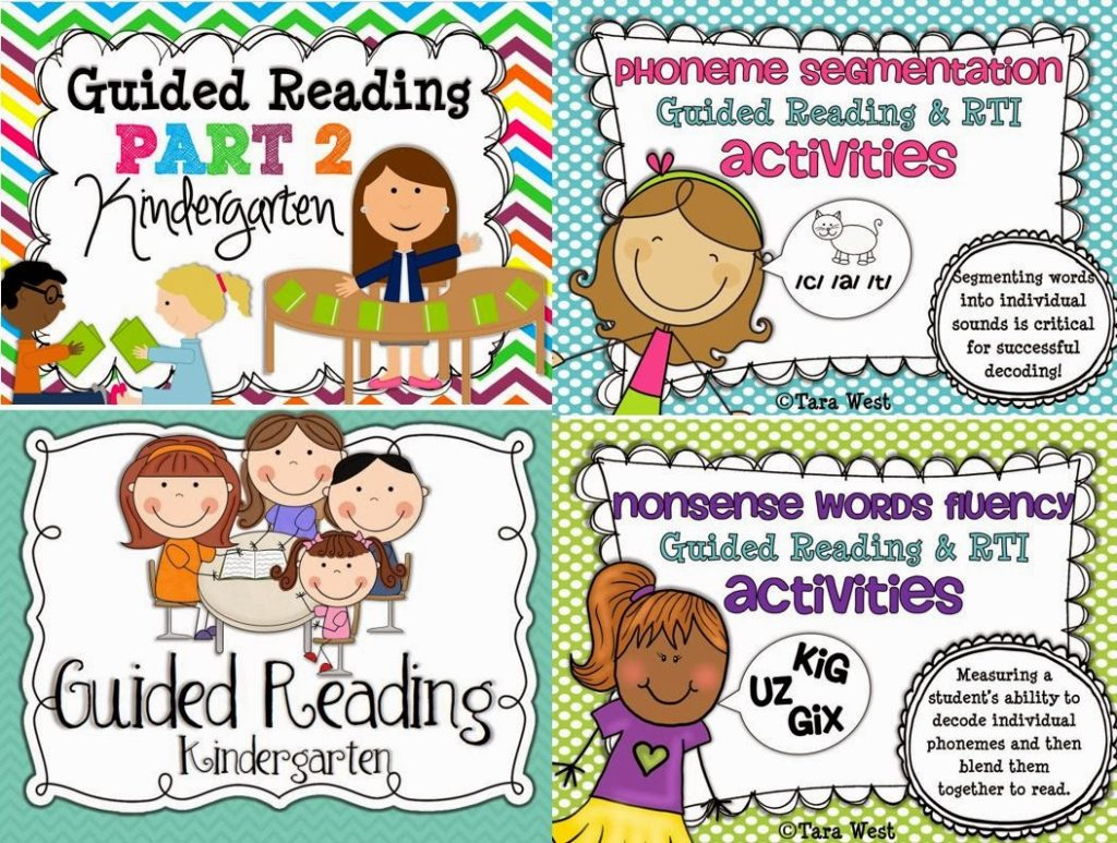 Guided Reading In Kindergarten Freebies