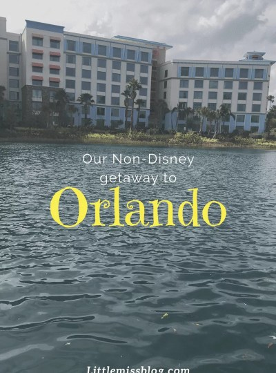 Our Non-Disney Orlando Trip