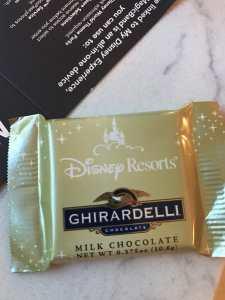 Ghiradelli Chocolate Left On Your Pillow littlemissblog.com