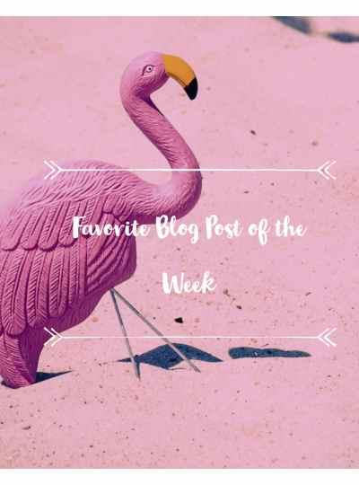 My Favorite Blog Post Of The Week #3