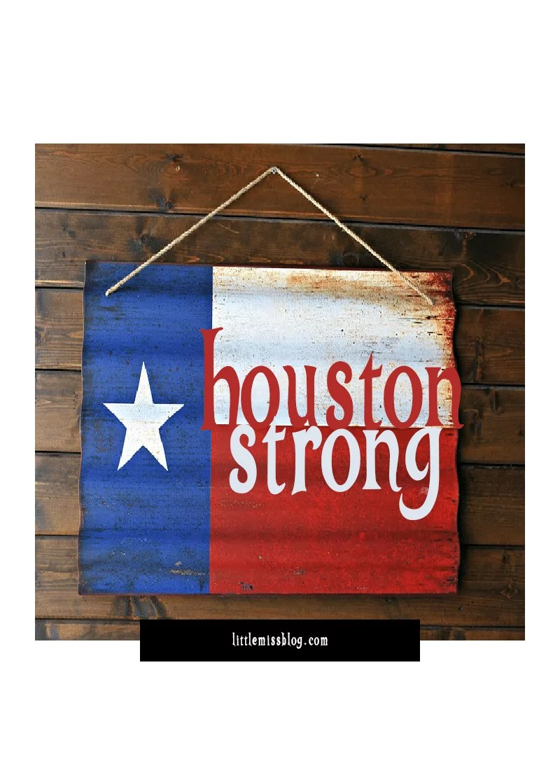 16946e5952e Houston Strong...Supporting Hurricane Harvey Relief Efforts