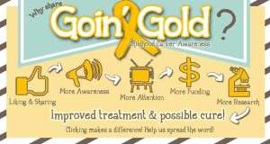 Childhood cancer awareness #goinggold