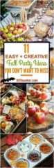 Pinterest Easy and Creative Fall Party Ideas