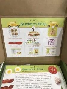 Sandwich Shop- kids stir littlemissblog.com