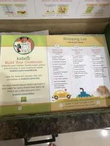 Kids Stir Cookbook littlemissblog.com