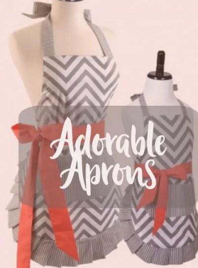 Adorable Aprons littlemissblog.com