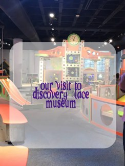 Visiting Discovery Place Museum in North Carolina