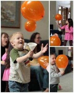 Balloon Catch Game