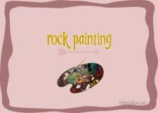 Rock Painting littlemissblog.com