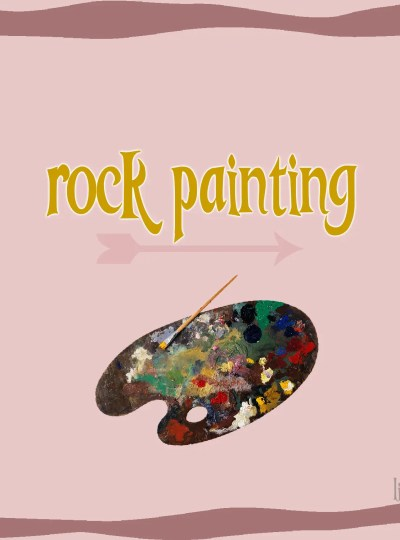 Rock Painting littlemissblog.com