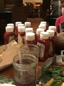 "Whispering Canyon at Wilderness Lodge ""We need ketchup"""