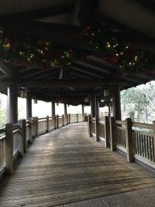 Walkway to Disney Vacation Club Area