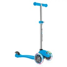 Globber Primo 3 Wheel Adjustable Height Scooter with LED Light Up Wheels. Best Christmas Gift Ideas for Kids- littlemissblog.com