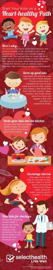 Start Kids on a Heart Healthy Path