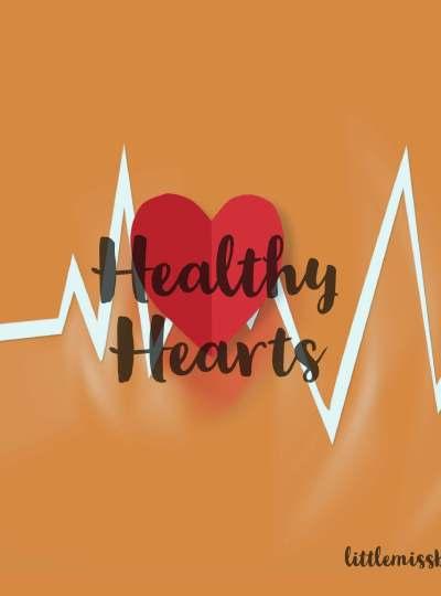 Heart Health Featured littlemissblog.com