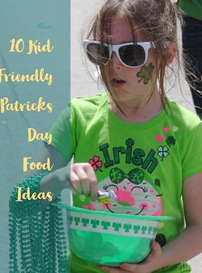 10 Kid Friendly St. Patricks Day Recipes littlemissblog.com