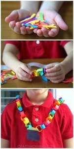 St Patrick's Day Necklaces littlemissblog.com