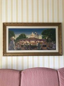 Art of boardwalk inside Boardwalk Hotel Room