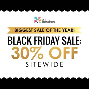 Black Friday Erin Condren
