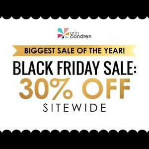 Black Friday Erin Condren