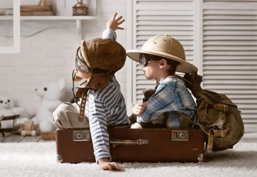 Traveling with little ones