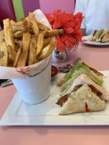 Club Sandwich American Girl Doll Bistro