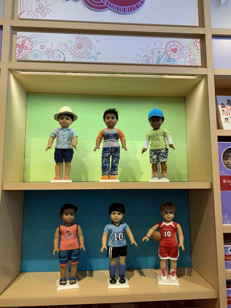Boy Dolls at American Girl Doll