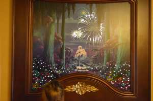 Headboard at Port Orleans Royal Room WDW