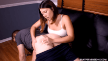 spanking by roommate