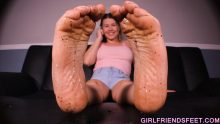 my dirty feet
