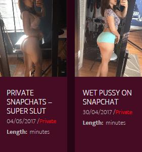 sexy snapchat videos