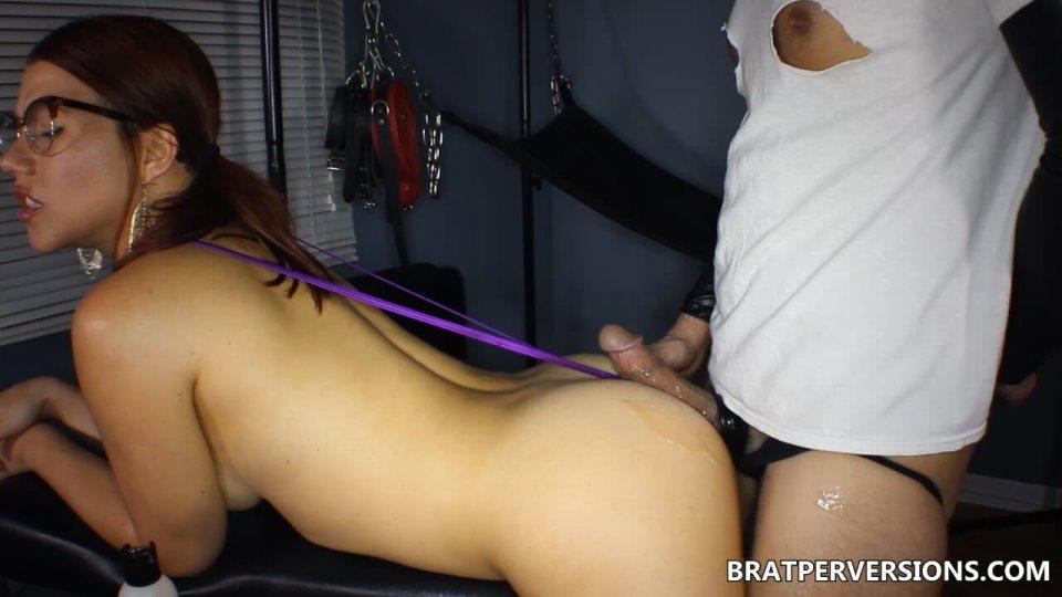 assjob in thong