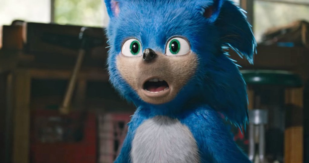 Sonic The Hegdehog before the remake