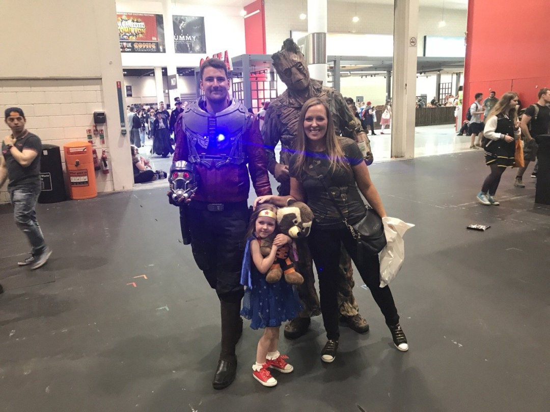 Comic Con for kids Guardians of the Galaxy
