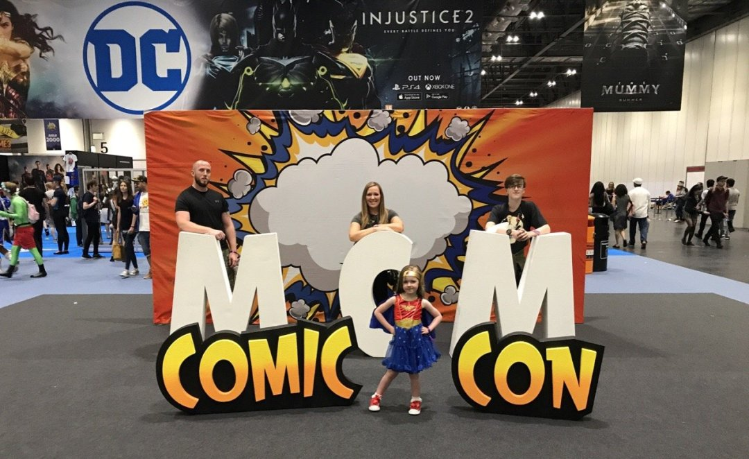 Comic Con for kids MCM Comic con