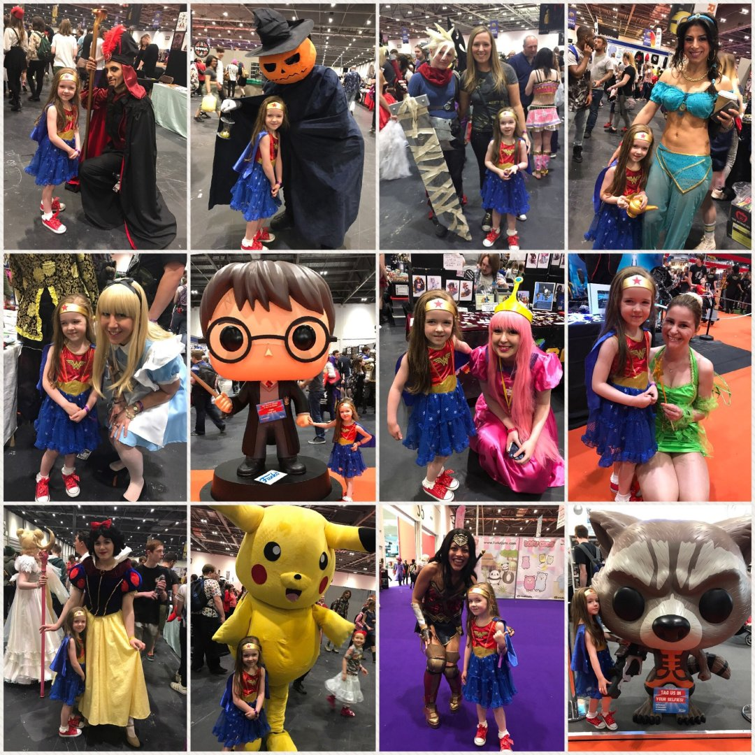Comic Con for kids character meets