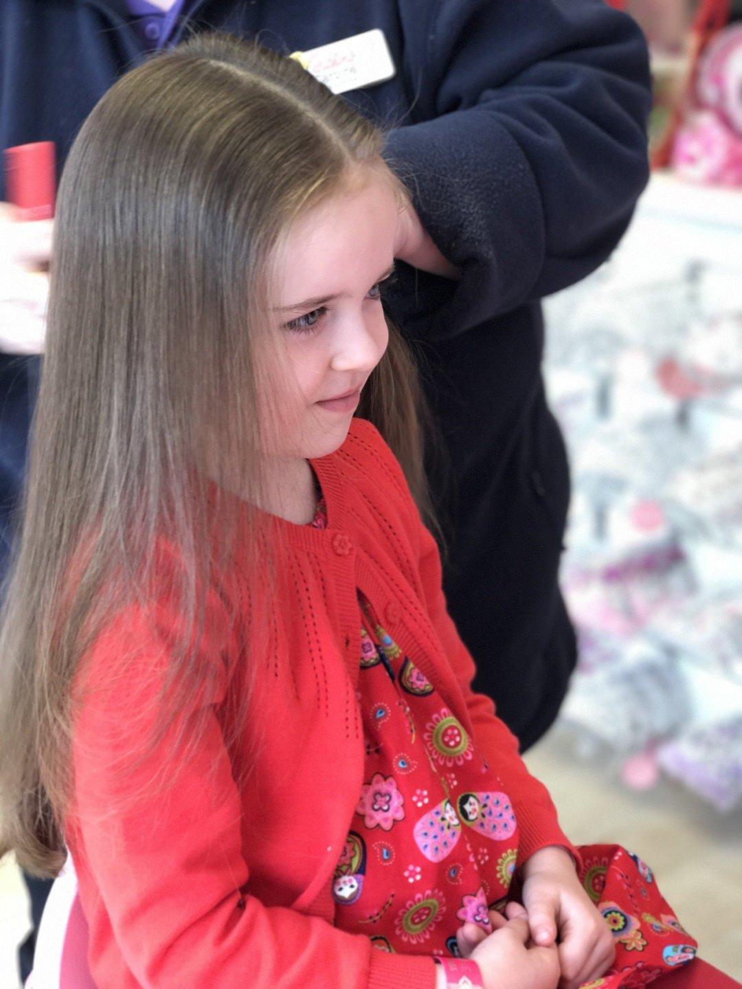 fairy princess makeover eden hair brushed