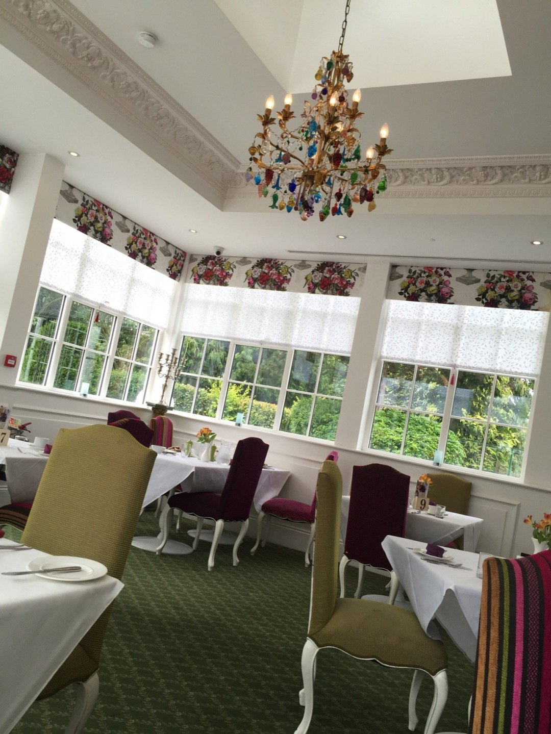 Afternoon Teas in Essex Orsett Hall Garden Brasserie