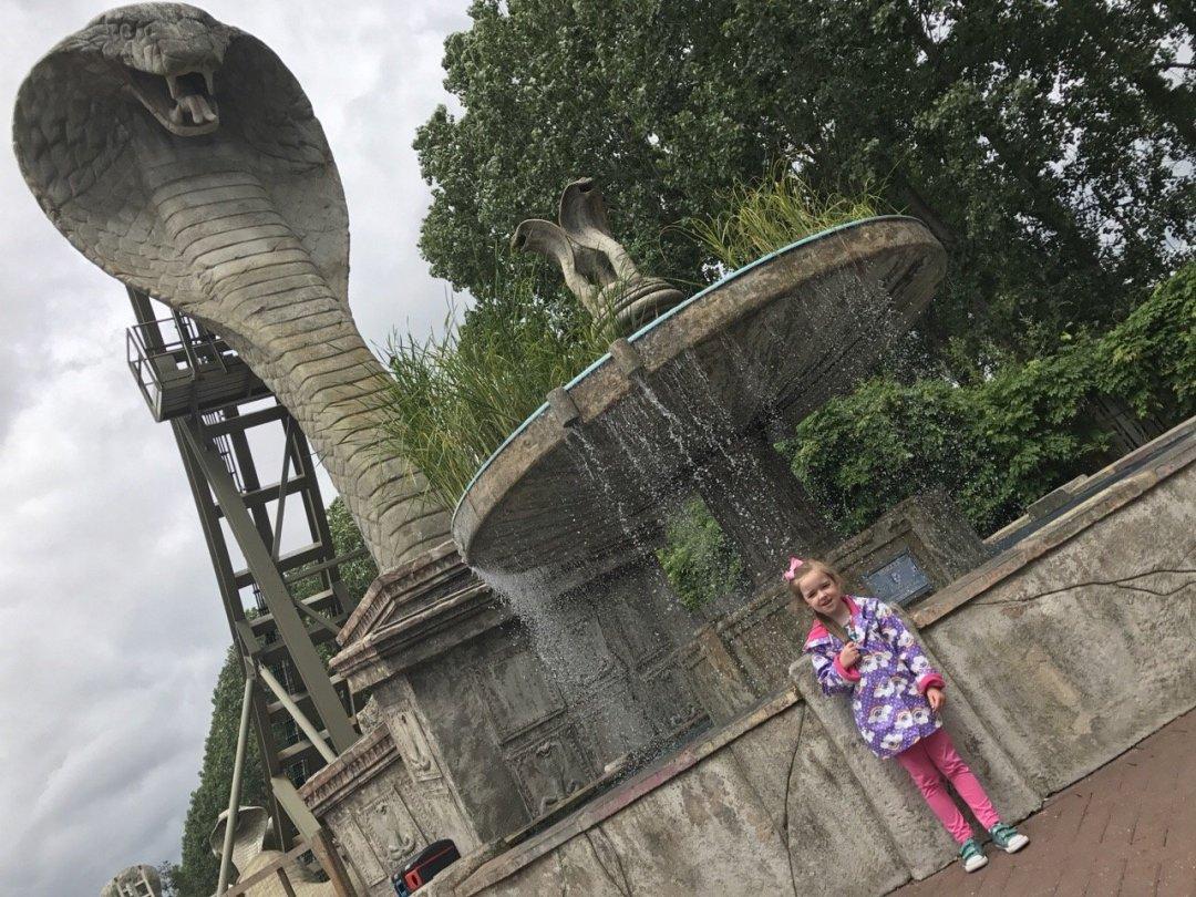 Merlin Passes chessington snake