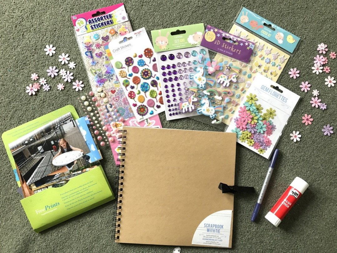 Scrapbooking for kids what you need