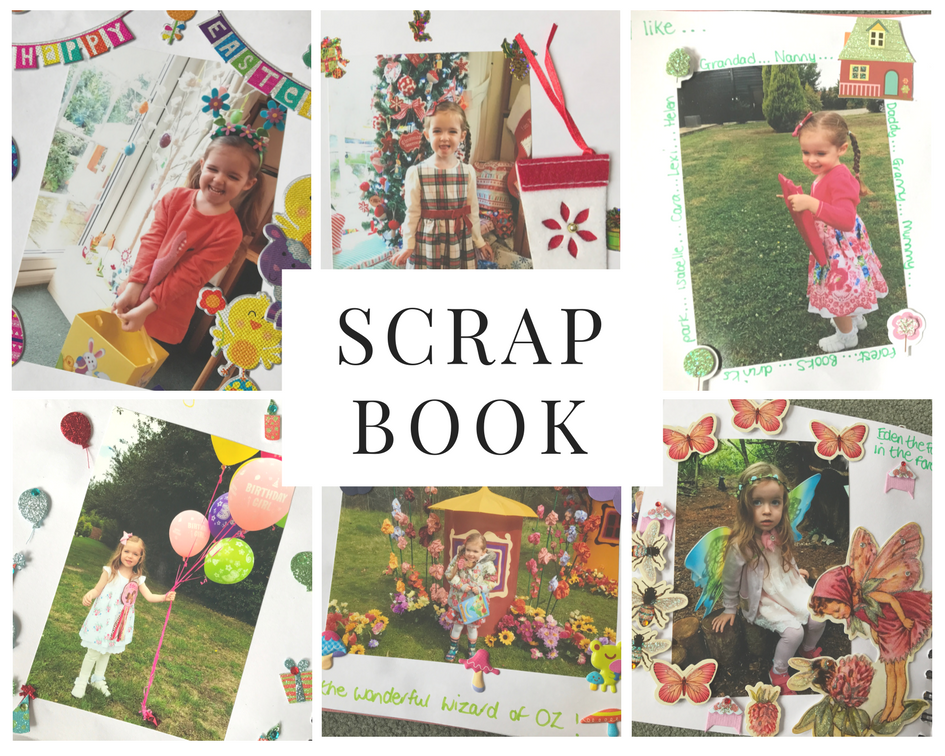 Scrapbooking for kids selection of pages