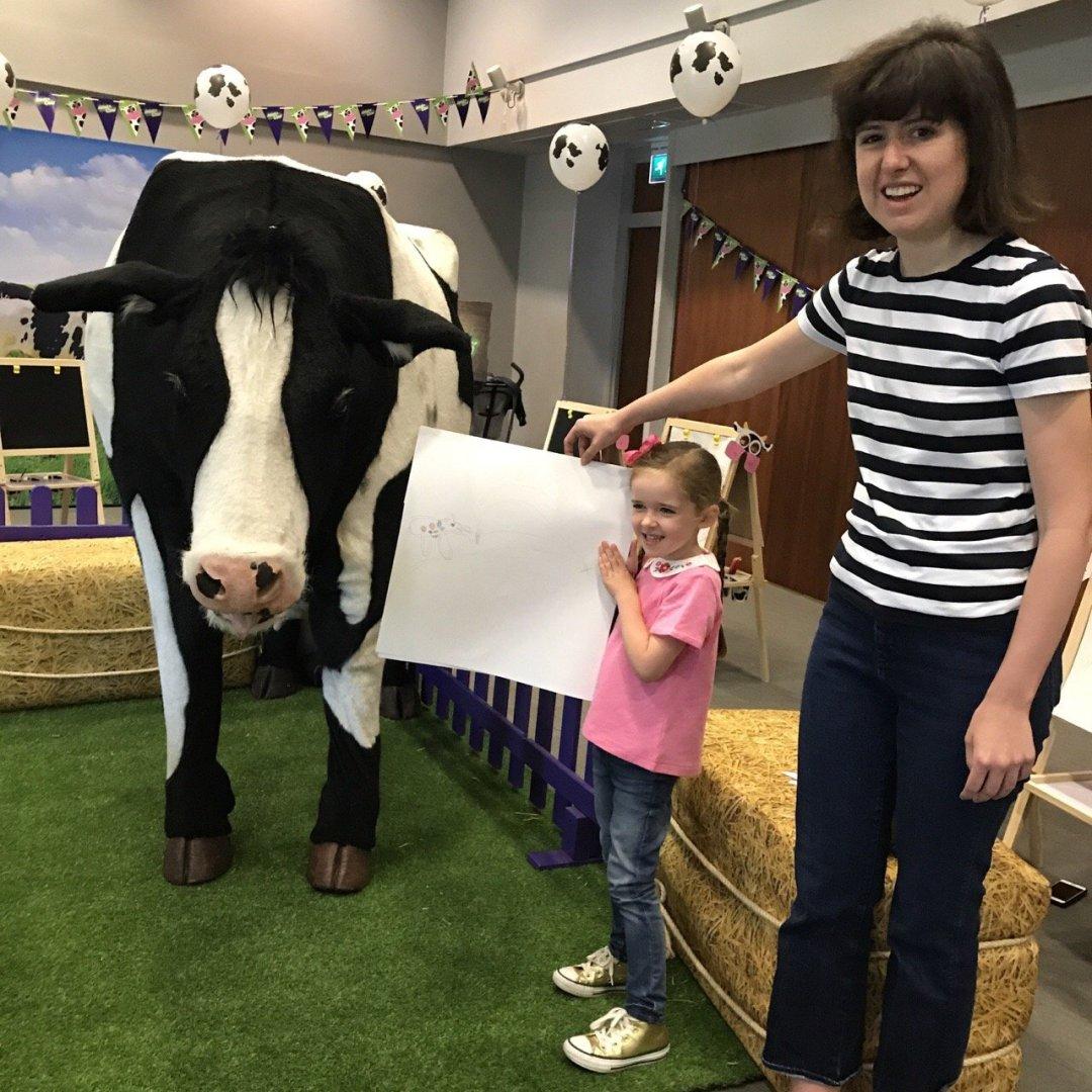 Cadbury's Adopt a Cow Rose Blake