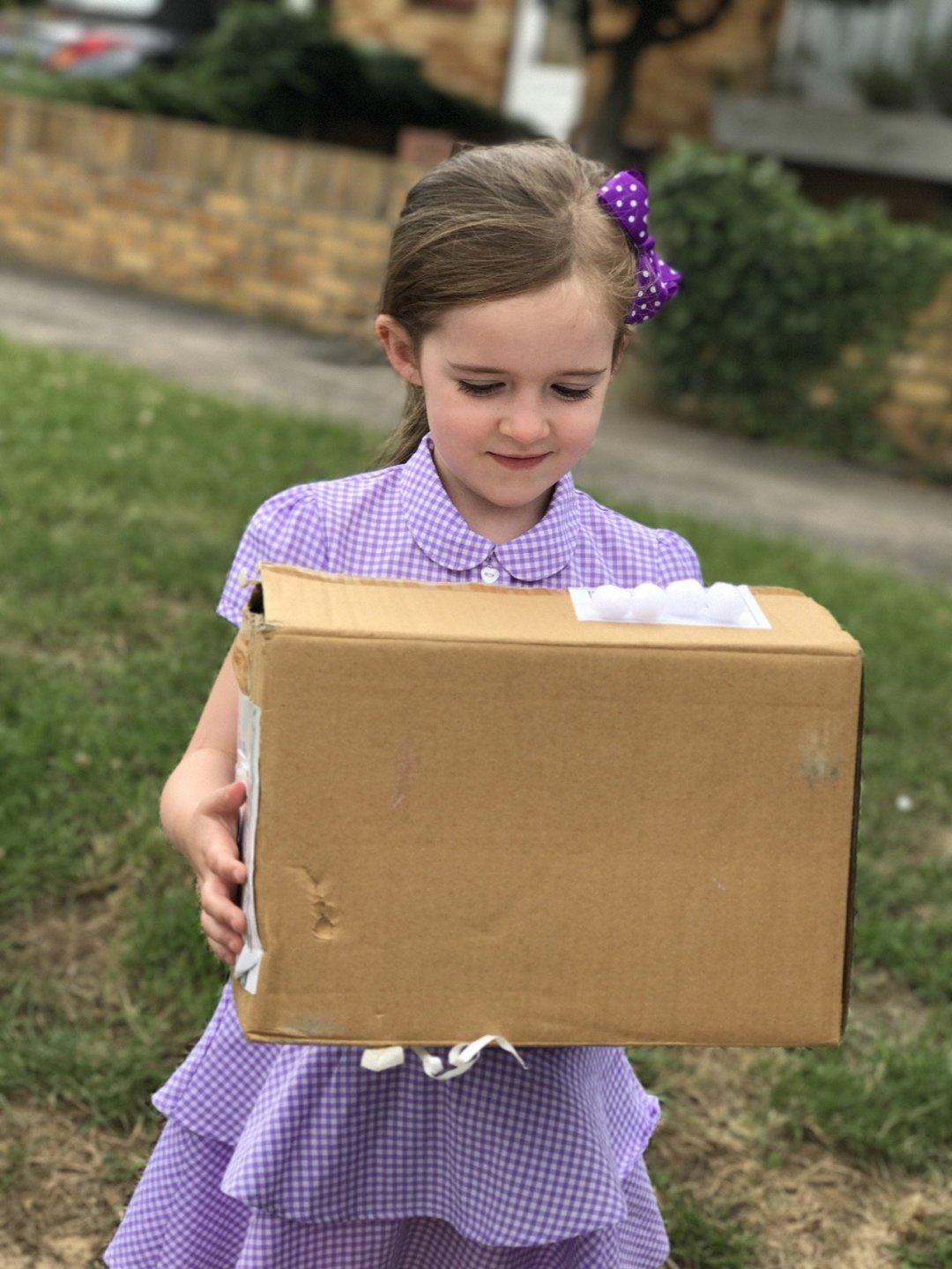 My little loves Eden's glitter box