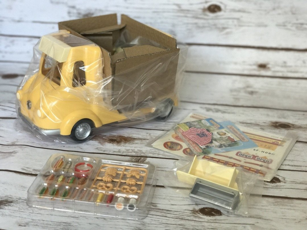 Sylvanian Families Hot Dog Van straight out of the box