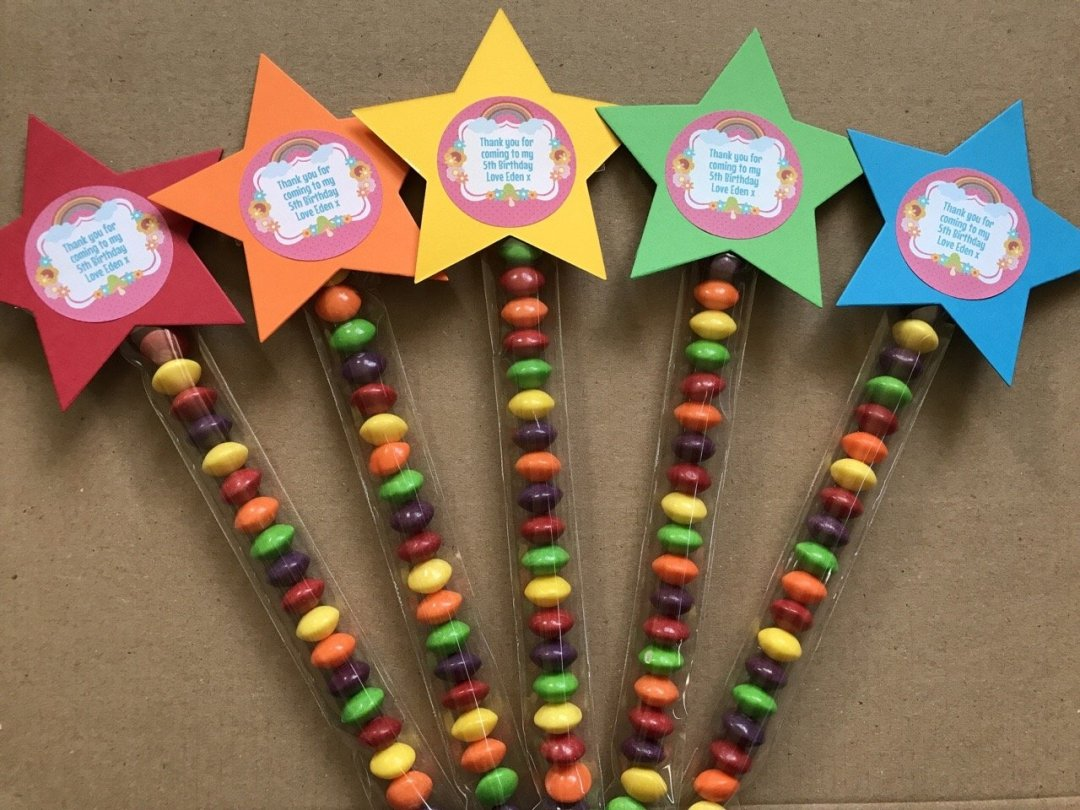 Trolls Party sweet wands