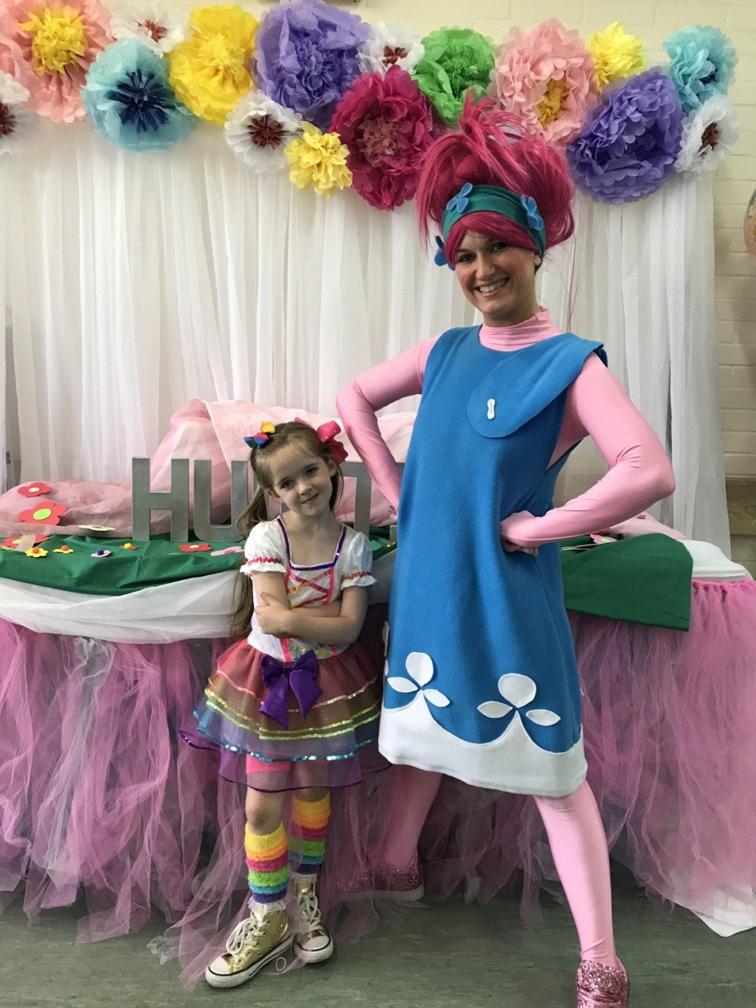 Trolls Party Eden and Poppy
