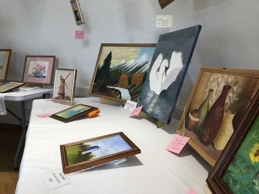 Rayleigh windmill painting exhibition