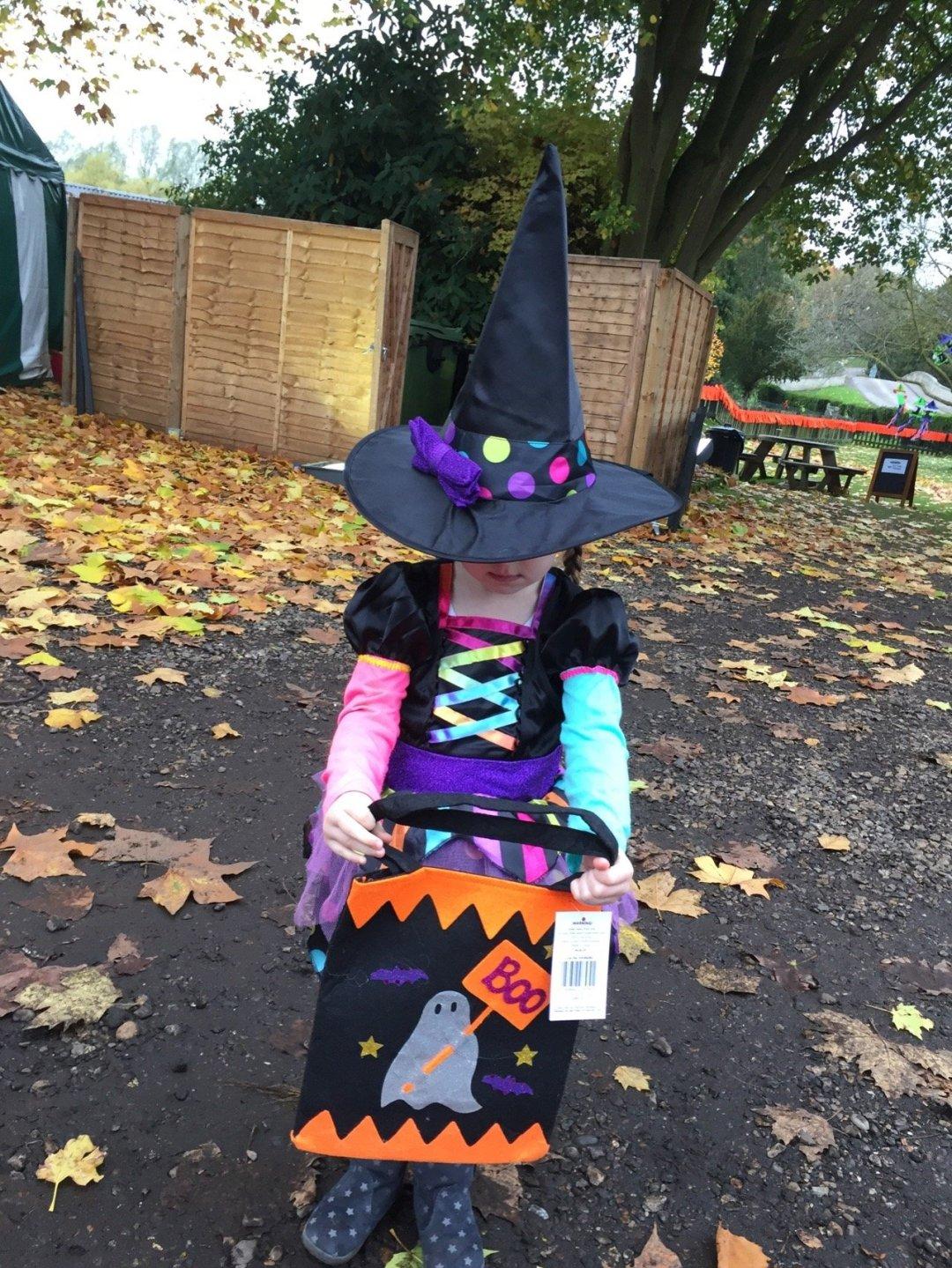 Halloween Train Eden the witch